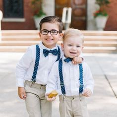 Fellas, take note-- these cuties have mastered perfect wedding day style  #theknot  via @tshughesphoto