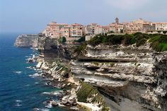 Bonifacio (Bunifaziu in Corsican) is a commune at the southern tip of the island of Corsica, in the Corse-du-Sud department of France.