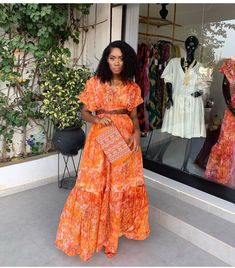 African Maxi Dresses, Kitenge, Africa Fashion, Classy Dress, Cute Fashion, New Dress, Casual Outfits, Church Attire, Sari