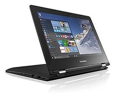 Lenovo YOGA 300 11.6-Inch HD Convertible Laptop (Black) - (Intel Pentium N3700, 4 GB RAM, 500 GB HDD, Intel HD Graphics Card, Windows 10), http://www.amazon.co.uk/dp/B019WBDQ9O/ref=cm_sw_r_pi_awdl_KCZhxbE9Z2JRC