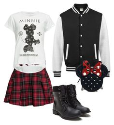 """""""Disneyland or bust!"""" by michelle-garrison on Polyvore featuring H&M, Neff and Loungefly"""