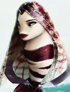 "Angelina Jolie is the voice of Lola in ""Shark Tale"" (2004)"