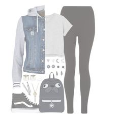 """""""//Ride//"""" by alex-bows ❤ liked on Polyvore featuring Monki, River Island, Vans, With Love From CA, The Giving Keys and BOBBY"""