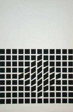 Sérigraphie. Victor Vasarely