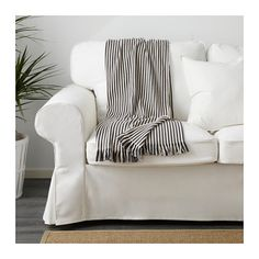 TUVALIE Throw IKEATUVALIE Throw, stripe white, dark gray $12.99 Article Number: 203.730.65