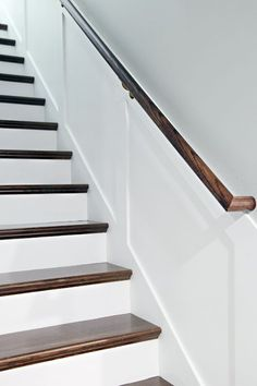 This Dramatic Staircase Makeover Will Cause You to Do a Double Take