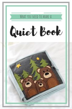 How to make a Quiet Book and what you need to make one. Quiet Books are also known as busy books, baby books or soft activity books. Learn to make your own Quiet Book. DIY Quiet Book supplies are listed with links to the products. How to make a Qui Diy Busy Books, Diy Quiet Books, Baby Quiet Book, Felt Quiet Books, Diy Books For Babies, Quiet Book For Toddlers, Quiet Book Templates, Quiet Book Patterns, Quiet Book Tutorial