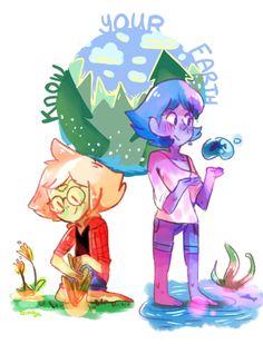 Steven Universe, Peridot and Lapis