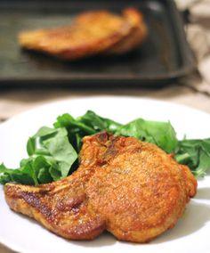 Juicy Puerto Rican Pork Chops — This authentic Puerto Rican pork chop recipe provides you with the perfect way to cook a juicy and flavorful pork chop. Dinner has never been juicier! Pork Chop Recipes, Meat Recipes, Mexican Food Recipes, Cooking Recipes, Ethnic Recipes, Cooking Kale, Cooking Fish, Healthy Recipes, Boricua Recipes