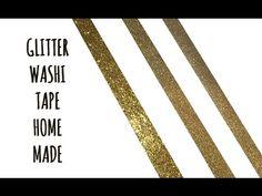 GLITTER WASHI TAPE: 3 modi per farlo home made! (Natale/Materiali home made) Arte per Te - YouTube