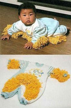 Ça y est, on a enfin trouvé une utilité aux enfants de moins de 1 an!
