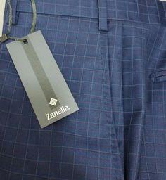 NWT$495 ZANELLA Italy ultra luxury marvelous Dress Pants 36W (TodaySpecial Sale) #zanella #DressFlatFront