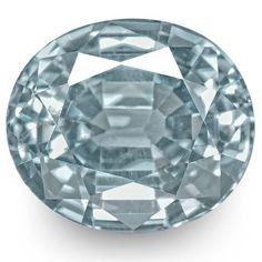 2.29-Carat Unheated VVS-Clarity Light Blue Ceylonese Sapphire (IGI-Certified) #StarRubyin