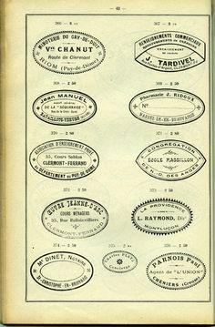 stamps catalog vintage (c) Fabien Barral www.mr-cup.com
