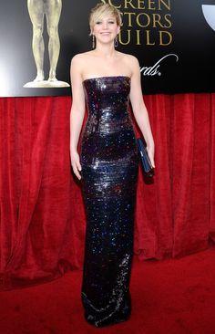 Jennifer Lawrence - 2014 SAG awards