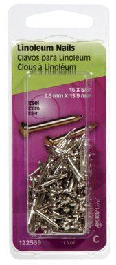 10 Pack Floreat Pro Nails made from Tempered Steel with Brass Heads-Nails Only