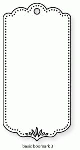 Blank Bookmark Template Bookmark Template   Pinteres