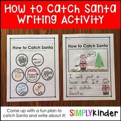 Christmas Week in Speech Therapy Christmas Writing, Kindergarten Language Arts, Kindergarten Activities, Library Activities, Writing Activities, Christmas Speech Therapy, Teaching Calendar, Christmas Activities