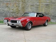 1969 Oldsmobile 442 W-32 Convertible