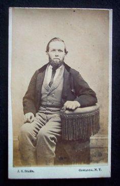 CDV Collectible Vintage and Antique Photos Victorian Gothic Clothing, Victorian Era, Gothic Outfits, Beauty Photos, Antique Photos, Chin Beard, Stamps, Photograph, New York