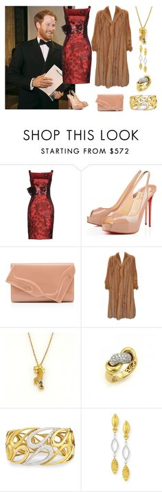 """""""Royal Variety Performance"""" by karen-galves on Polyvore featuring Dsquared2, Christian Louboutin, Carrera y Carrera, Roberto Coin, Vendorafa, Gurhan, women's clothing, women, female and woman"""