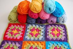 There are a lot of granny square tutorials in English, but I couldn't find a good one in Dutch.  So, this one is for my dutch and flemish re...