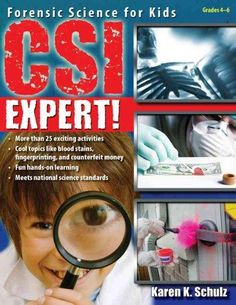 Crime scene investigation is hotter than ever, and kids everywhere will love learning about how their favorite detectives use science to figure out unsolvable thefts, arsons, mysteries, and more. CSI