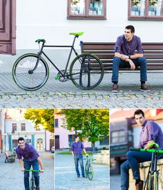 #portrait #men #photography #ideas #fixie
