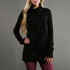 Calder Top Black now featured on Fab. Really nice, very versatile, I can make a few outfits in my mind with this top.