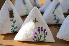 Pyramid Lavender Bags