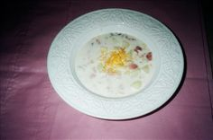 Ham Chowder from Food.com: Creamy ham chowder. Perfect for winter nights and quick dinners. This is another of my mother's Geraldine Lefever recipes she used while we were growing up. Our children have loved it too!