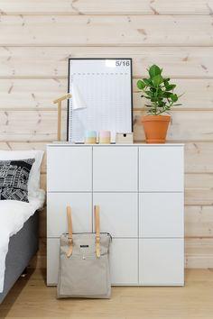 Lundia fuuga lipasto makuuhuoneessa asuntomessut2015 kohde14