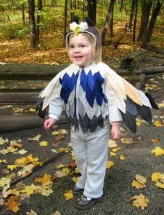 Hoodie Parrot Costume