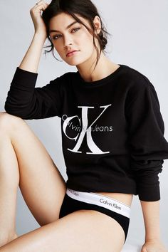 Calvin Klein Jeans Women's Sweatshirt available for $70.00