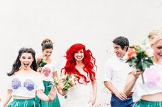 Little mermaid wedding theme