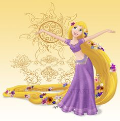 Disney+Dancers:+Rapunzel+by+ZellyKat.deviantart.com+on+@DeviantArt