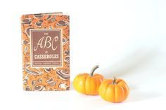 The ABC of Casseroles Mid Century Modern Retro by ThriftCore, $26.00