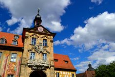 Bamberg Rathaus by Andrei Dumy on Big Ben, Germany, Mansions, House Styles, Building, Photography, Travel, 19th Century, Bamberg