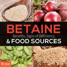Betaine Benefits, Signs of Deficiency and Food Sources - Dr. Axe Low Stomach Acid, Diet Plan Menu, Body Composition, Protein Diets, Fatty Liver, Fat Loss Diet, Natural Medicine, Amino Acids, Vitamin E