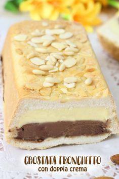 La crostata tronchetto con doppia crema si conserva in frigo per 3-4 giorni!