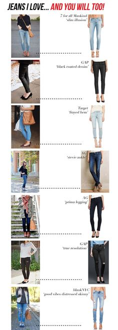 jillgg's good life (for less) | a style blog: jeans I love… and you will too!