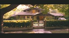 Craftsman-Style House featured in Monster-in-Law with Jennifer Lopez, Jane Fonda, and Michael Vartan.