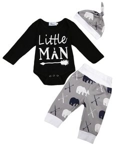 Little Man Baby Boy Outfit Little Boy Outfits, Little Boy Fashion, Toddler Boy Outfits, Baby Boy Fashion, Toddler Fashion, Kids Fashion, Fashion 2016, Fashion Fall, Fashion Trends