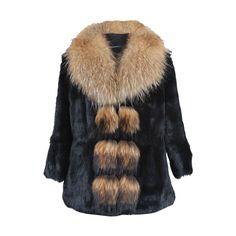 Manteau Lapin Et Raccoon Vistia 345,00 € Tailles disponibles: S, M, L, XL, XXL, XXXL