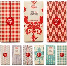 Chocolats Favoris Logo and Packaging