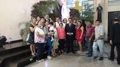 Colonia Colombiana en Boda de Plata de nuestro Compatriota Oscar Iván Aristazábal Gómez y Rosa Mary Colmán de Aristizábal.