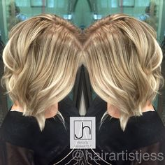 Blonde Balayage @hairartistjess