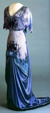 1912 Edwardian dress