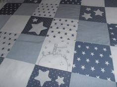 COLCHA PARA LLIBERT Patchwork Baby, Baby Boy Quilts, Patch Quilt, Small Quilts, Baby Time, Baby Cribs, Applique Designs, Baby Sewing, Bed Sheets