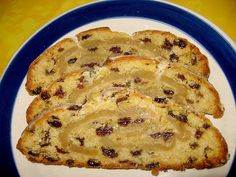 german marzipan quark stollen for the holidays - authentic german recipe #germanrecipes #authenticgerman